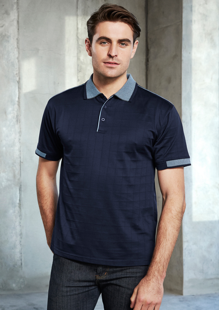 Noosa Self Check Mens Polo P9100